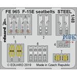 McDonnell F-15E Strike Eagle seatbelts STEEL 1/48