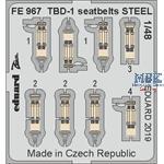 Douglas TBD-1 seatbelts STEEL 1/48