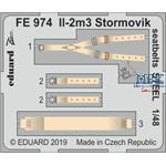 Il-2m3 Stormovik seatbelts STEEL 1/48