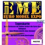 Eintrittskarte Euro Model Expo 2020