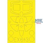 Spitfire MK.I 1/48 Masking tape