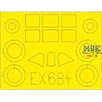 Reggiane Re.2005 1/48 Masking tape