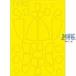 Bell P-39/P-400 Airacobra TFace 1/48 Masking tape