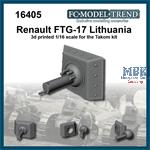 Renault FT-17 Lithuania