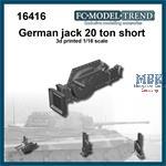German 20 ton jack short