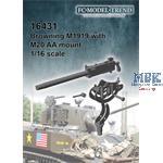 Browning M1919 w/ M20 AA mount
