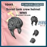 Soviet tanker helmet WWII