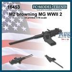 M2 Browning heavy machine gun, WWII