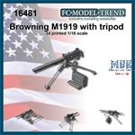 Browning M1919 with tripod