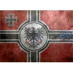 Self adhesive grunge base, 3rd Reich 26x19cm