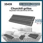 Churchill mesh grilles