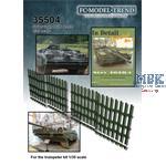 Stridsvagn 103C bars grille