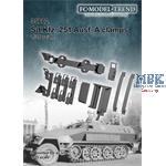 Sd.Kfz. 251 Ausf. A clamps / Werkzeughalterungen