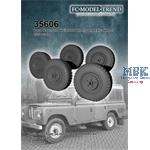 Land Rover weighted wheels