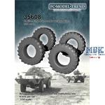 M-706 Commando weighted tires