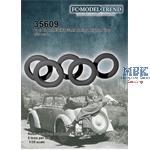 Opel Kadett weighted tires