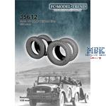 Horch 108 Typ 40 weighted tires