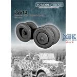 Mercedes L1500A weighted wheels