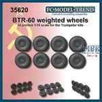 BTR-60 weighted wheels