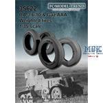 BA-3/ 6/ 10 & GAZ AAA, weighted tires