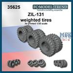 ZIL-131 weighted tires