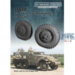 M2/M3 halftrack weighted wheels