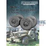 Dodge WC weighted wheels