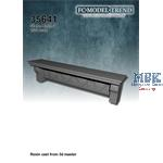 Wall stone bench 3