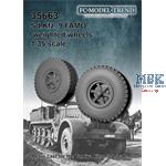 Sd.Kfz. 9 Famo, weighted wheels