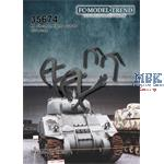 M4 Sherman front and rear light protectors