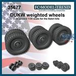 DUKW weighted wheels