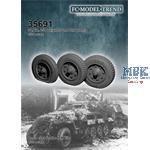 Sd.Kfz 251 weighted wheels + flat wheel
