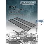 Panzer III engine grilles
