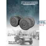 Sd.Kfz. 221/222/223 weighted wheels