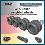 GTK Boxer weighted tires