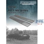 KV1/2 rear grilles late type