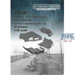 Sd.Kfz. 222 early mesh roof, model A