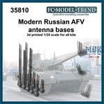 IDF AFV bent antenna bases