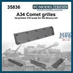 Comet mesh grille