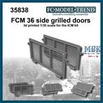 FCM 36 side grilles