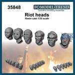 Riot heads