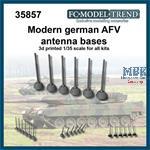Modern German AFV antenna bases