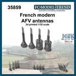 Modern French AFV antennas
