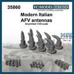 Modern Italian AFV antenna bases