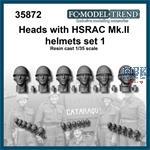 HSRAC MK.III helmet heads, set 1