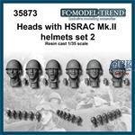 HSRAC MK.III helmet heads, set 2