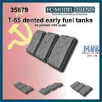 T-55 early dented fuel tanks