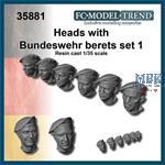 Bundeswehr tank crew heads 1