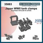 Japan WWII tanks clamps