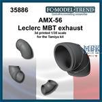 AMX-56 Leclerc, exhaust